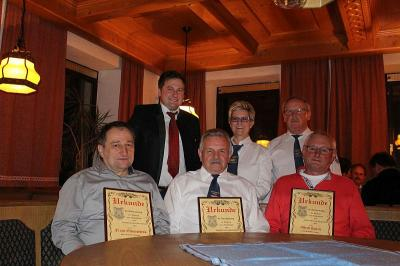 Foto zu Meldung: Lob von Bürgermeister Eckl – der Handwerkerverein hat im letzten Jahr viel geleistet