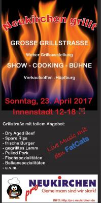 """Vorschaubild zur Meldung: Frühlingsevent """"Neukirchen grillt"""""""