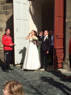 Foto zur Meldung: Hochzeit von Dani und Irina