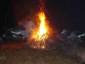 Vorschaubild zur Meldung: Update zum Osterfeuer