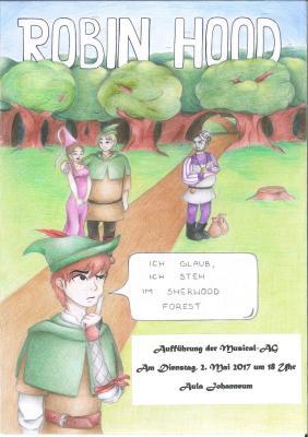 Vorschaubild zur Meldung: Robin Hood: Aufführung am 02. Mai 2017