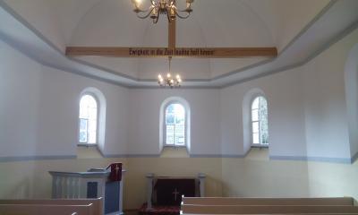 Foto zu Meldung: Sanierung des Kirchenraumes in Schwarzenburg beendet