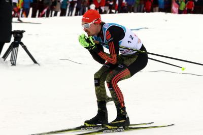 Fabian Rießle wurde in Trondheim Dritter und will auch in Schonach auf das Podest - Foto: Hahne / johapress