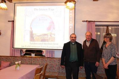 """Vorschaubild zur Meldung: """"Die letzten Tage Jesu in Jerusalem"""" - Einstimmung auf die Karwoche und das kommende Osterfest"""