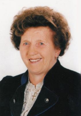 Vorschaubild zur Meldung: Emma Höferer starb mit 87 Jahren eines plötzlichen Todes