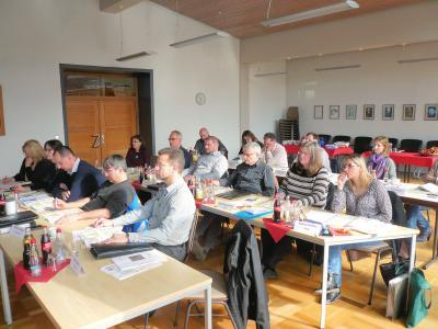 Seminar neues kommunales Haushaltsrecht im Rathaus Zuzenhausen