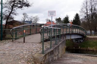 Foto zur Meldung: Hafenbrücke wird abgerissen und Neubau der Brücke