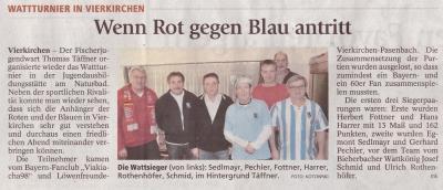 Foto zu Meldung: Watttunier in Vierkirchen