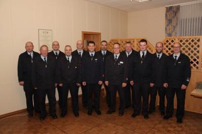 Der neue Vorstand des Fördervereins für die kommenden fünf Jahre