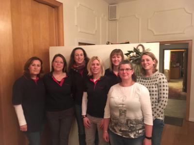 Stefanie Wistuba, Maike Danger, Susanne Otte, Mirja Sanne, Jessica Heliosch, Sandra Stange, Svenja Möhl