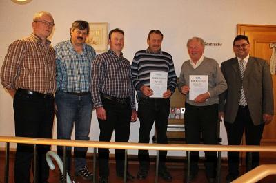 Foto zu Meldung: Der CSU-Ortsverband traf sich zur Jahreshauptversammlung