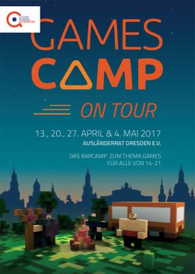 Foto zu Meldung: GAMESCAMP on Tour