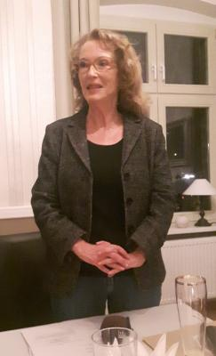 Die neue Kreisvorsitzende der FDP - Frau Dr. Gabriele Schare-Ruf