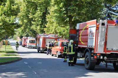 Feuerwehr-Einsatz in Groß-Behnitz