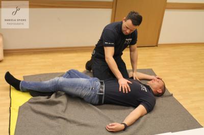 Foto zu Meldung: Erste Hilfe Schulung für alle Bürger der Gemeinde
