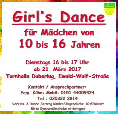 Girl's Dance TSV Doberlug 1863 e.V.