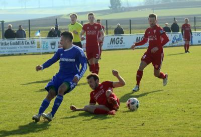 Foto zu Meldung: Landesliga: FC Vorwärts - TSV Kornburg 0:1 (0:0)