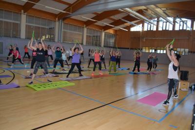 Foto zur Meldung: Pound-Fitness beim TV-Wallersdorf