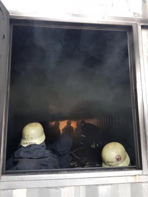 Vorschaubild zur Meldung: Tm 2: Brandbekämpfung und Wärmegewöhnung