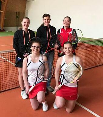 Foto zur Meldung: Tennis - Damen holten sich die Meisterschaft