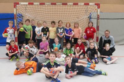 """Foto zur Meldung: Handballturnier mit """"get in touch"""" in der Sporthalle Hürup"""