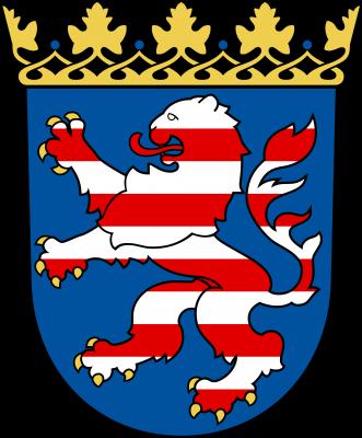 Wappen vom Land Hessen