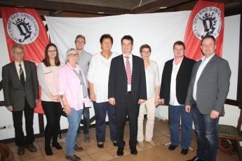 Foto zur Meldung: JHV bestätigt Vorstandsteam und beschließt neue Satzung