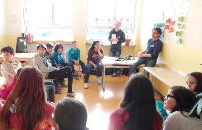Foto zur Meldung: Projekt-Tage im Kinderhort Alsweiler