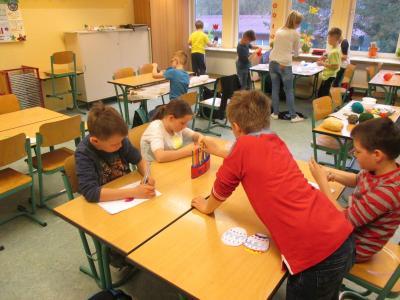 Vorschaubild zur Meldung: Osterprojekte der Klassen 3 und 5