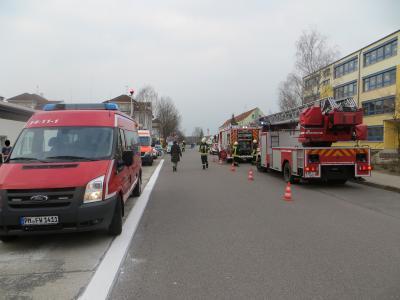 Gebäudebrand an der Grundschule am 17.03.2017
