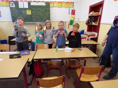 Foto zur Meldung: Osterprojekte an unserer Schule