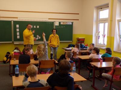 Foto zur Meldung: KiJu-Projekt der 2. Klassen