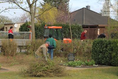 Foto zur Meldung: Frühjahrsputz in Sülte