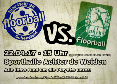 Floorball Schenefeld vs. Leipzig
