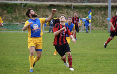 Foto zu Meldung: Fußball: I. Männer gewinnen / II. Männer auswärts nur Remis
