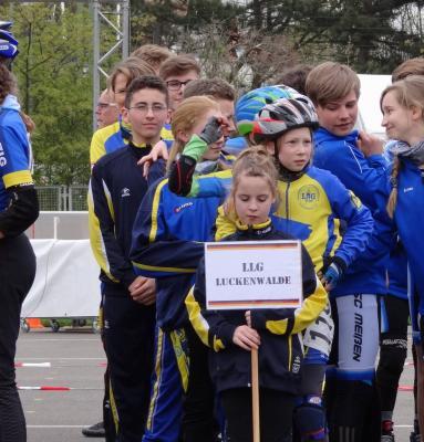 Foto zu Meldung: LLG-Speedskater beim 12. LE-Skate Race in Leipzig