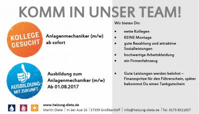 Vorschaubild zur Meldung: Komm in unser Team!