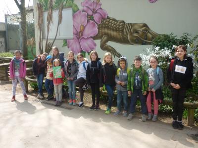 Gruppenfoto Vivarium Darmstadt