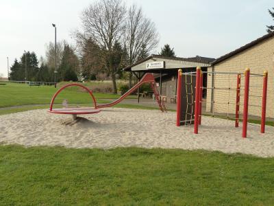 Der neugestaltete Spielplatz in Rickensdorf