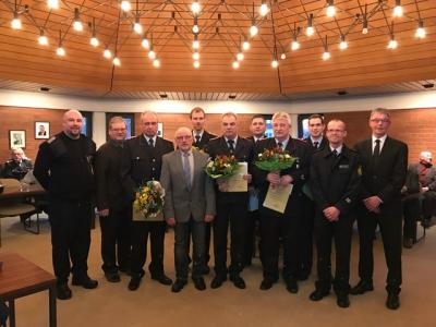Vorschaubild zur Meldung: Neue Führungskräfte in der Feuerwehr