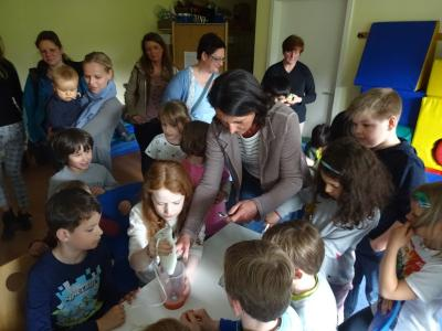 Foto zur Meldung: 2. Oster-Labor in unserer OGS
