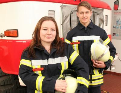 Vorschaubild zur Meldung: Feuer und Flamme für die Feuerwehr