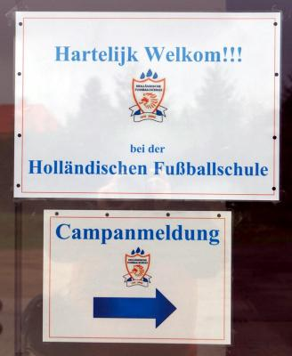 Foto zur Meldung: Fußballcamp in der Gartsbrucharena