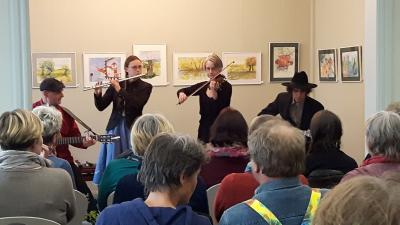 Foto zur Meldung: Wunderbares Konzert zu Ostern - und Sonntag ist Osterspaziergang