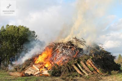 Foto zur Meldung: Osterfeuer in Sülte