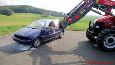 Vorschaubild zur Meldung: Übung THL Pkw gegen Traktor
