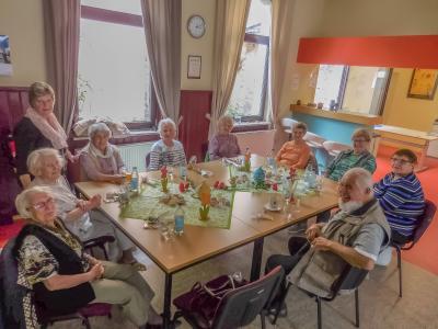 Vorschaubild zur Meldung: Osterfeier beim AWO Seniorennachmittag