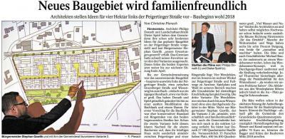 Vorschaubild zur Meldung: Neues Baugebiet in Fürstenstein