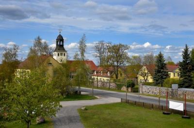 Blick auf Friedersdorf, Foto: Matthias Lubisch