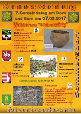 Vorschaubild zur Meldung: 7. Gemeindetag um Dorn und Born am 07.05.2017